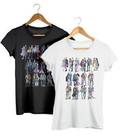 All Disney Princess & Prince Fashion T-Shirt Couples Matching Unisex Fit Tee