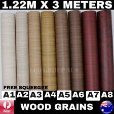 Wood Grain Vinyl Wrap Film Sticker Decal Car Furniture Laptop Mobile 1.22M X 3M