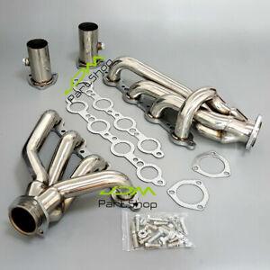 LS Swap Exhaust Manifold for GMC Chevy LS1 LS2 LS10 LSX Truck&SUV 5.3 5.7 6.0L