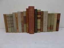 18 TAN BROWN Decorative Books Antique Vintage Wedding Instant Library Staging