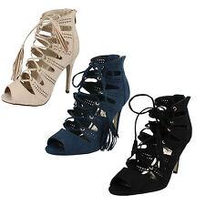 Anne Michelle Women's Textile Slim High Heel (3-4.5 in.) Shoes