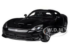 2013 DODGE VIPER SRT GTS BLACK 1/24 DIECAST MODEL CAR BY MAISTO 31271