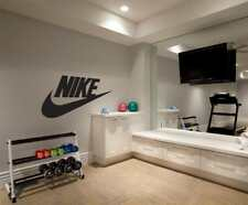 NIKE LOGO WALL STICKER Decal Art Mural Stencil Silhouette ST205