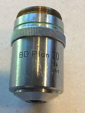 Nikon Microscope Objective BD Plan 20 20X 0.40 210/0