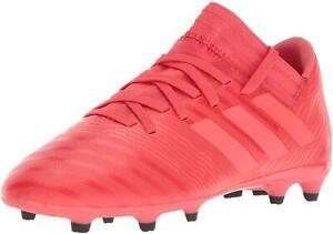 Adidas Nemeziz 17.3 FG J Real Coral/Red Zest/Core Black Soccer Shoe (PS/GS)