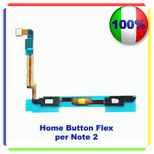 RICAMBIO HOME BUTTON CABLE PULSANTE TASTO per Samsung Galaxy Note 2 N7100 FLEX