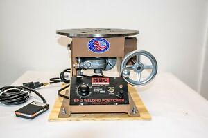 MBC BP-2B 200 LB CAPACITY Bench Top Weld Positioner 0-9 RPM