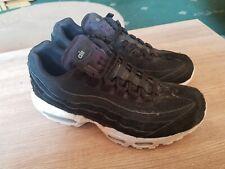 Nike Air Max 95 Womens Size 6 black white trainers eu 40