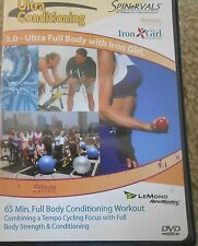 Spinervals 3.0 Ultra Conditioning Full Body Workout DVD Exercise Iron Girl