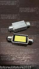 COPPIA LAMPADINA SILURO 39mm LED COB 6W - LUCI TARGA ABITACOLO - LAMPADE CANBUS