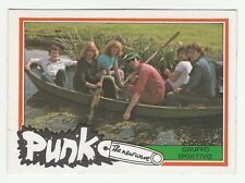 1970s Monty Gum Punk - Pop Star Card Dutch Group Gruppo Sportivo - in boat
