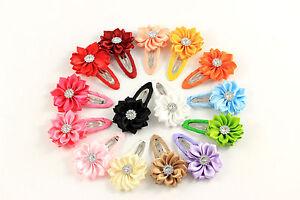 Haarspange Haarklammer Blume Blüte Kinder Mädchen Haarschmuck K364