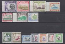 Rhodesia & Nyasaland 1959 Mint Mounted Set to £1