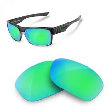 Lentes SURE de Recambio Polarizada para Oakley Two Face (Sapphire Green)