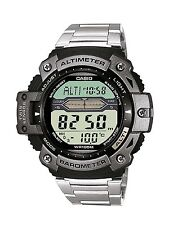 Casio SGW-300HD-1A Twin Sensor Stainless Steel Mens Watch Thermometer SGW-300