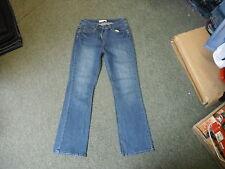 "Papaya Bootcut Jeans Size 10 Leg 29"" Faded Dark Blue Ladies Jeans"