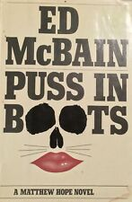 Puss in Boots Ed McBain Hardcover First Edition Vintage Book Free Postage