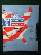1976 OMC Evinrude Outboard Service Repair Shop Manual 2 HP 2602 DEALER