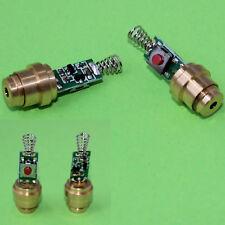 Laserdiode, Laser, Lasermodul rot, 650 nm, 4 mW, mit Taste, Laserpointer (297