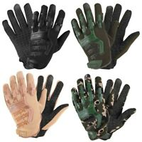 Outdoor Tactics Gloves Mens Full Finger Camouflage Paintball Military Gloves