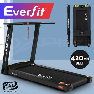 Everfit Treadmill Electric Home Gym Exercise Machine Fitness Equipment Compact