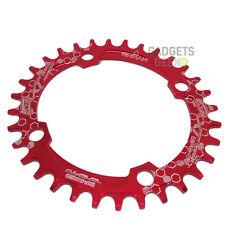 Plato 104BCD Ovalado Redondo 32 Dientes Bici MTB Bicicleta Compatible Shimano