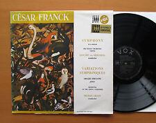 Franck Symphony in D Minor Symphonic Variations VOX EQVX 70.009 Stereo EXCELLENT