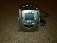 TIMEX T622H CD AM FM Alarm Clock Radio MP3 Aux input Battery Backup