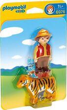 6976 playmobil 1 2 3 Garde chasse avec Tigre pour enfants à partir de 1½ Ans/