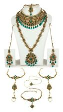 Indian Necklace Jewelry Bridal Gold Plated Bollywood Fashion Wedding Earring Set