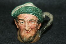 "VINTAGE 1928-1954 ROYAL DOULTON TOBY MUG AULD MAC SMALL 3"" X 2 1/2"" W/O HANDLE"