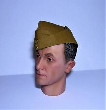 Banjoman 1:6 Scale Custom WW2 British Field Service Cap - Light Khaki
