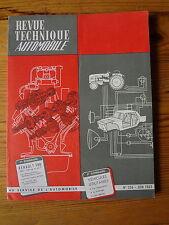 RTA Revue Technique Automobile  n° 206 - RENAULT 580 1000, 1400kg & 2,5 T - 1963