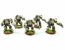 Warhammer 40K Ejército Espacio Marina Oscuro Ángeles Terminator Squad Pintado Y
