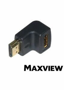 Maxview HDMI to HDMI Angled Adapter With Gold Plated Contacts Adaptor