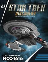 STAR TREK DISCOVERY Official Starships Magazine #27 U.S.S. Zimmerman NCC-1616