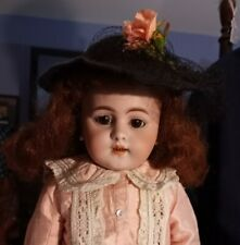 "Antique 20-Inch Simon & Halbig 1179 Doll ""Pretty In Pink""  11"