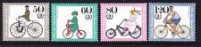 Germany Berlin 9NB223-26 MNH 1985 Various Types of Bicycles Complete Set VF