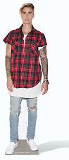 Justin Bieber Uso Lifesize Sagoma di Cartone / in Piedi / Stand-Up Boscaiolo