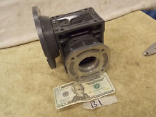 """Motovario Worm Gear 13:1 Ratio Speed Reducer Gearbox 5/8"""" in. 1.0"""" out NEW"""
