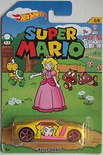Hot Wheels- Super Mario- Bully Goat- Peach Car 5/8 Lot# EB14