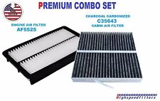 COMBO Air Filter & CHARCOAL Cabin Air Filter For 2003 - 2008 MAZDA 6 - 3.0L