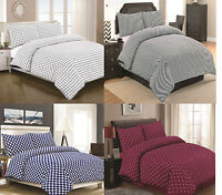 Luxury Percale Duvet Cover Quilt Cover Set Single Double King & Super King Size!
