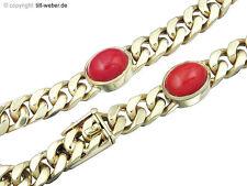 Armband Koralle 585er Gelbgold