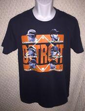 Detroit Tigers Cabrera Verlander Cespedes etc. t-shirt size adult Medium