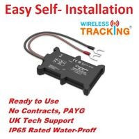 GPS Vehicle Tracking device - Motorbike Coach Car Tracker - Pay as You Go WL100