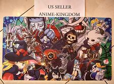 Custom Anime Playmat Play Mat Large Mouse Pad Cute Ghostrick Theme Mat # 453