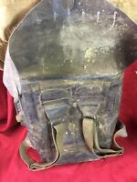 Vintage Military Rubber Backpack With Life Preserver Buoy WW2 Dated 1945