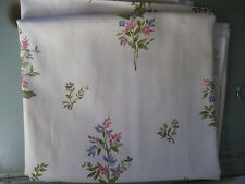 "Robert Allen @ Home Dupont Teflon Herringbone Twill Floral Fabric 3 Yards (108"")"