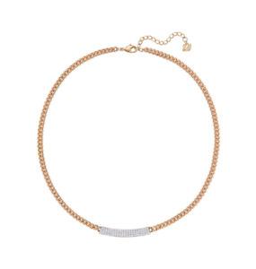 Swarovski Color Crystal Jewelry VIO NECKLACE Rose Gold -5192265 New